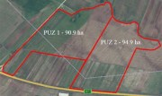 Land for development– km 86 Bucharest – Pitesti highway, 192 ha available